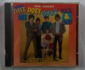 CD The Great Dave Dee, Dozy, Beaky, Mick & Tich