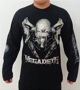 Camiseta manga longa Megadeth - Killing is my business