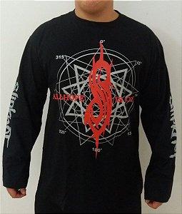 Camiseta manga longa Slipknot - nanograma - All hope is gone