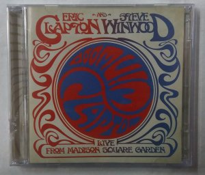 CD Eric Clapton and Steve Winwood - Live from Madison Square Garden