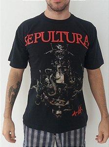 Camiseta Sepultura - A-lex