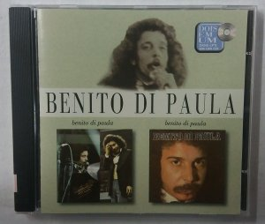 CD Benito di Paula - 2 LP's em 1 CD