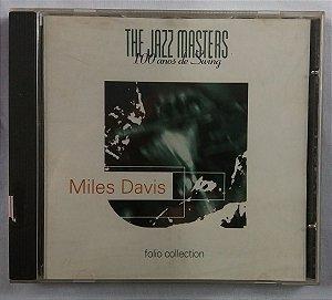 CD Miles Davis - The Jazz Masters - 100 Anos de Swing