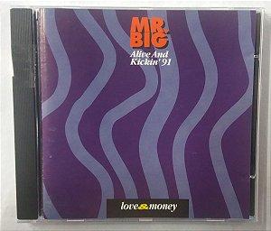 CD MR Big - Alive and Kickin' 91 - Importado