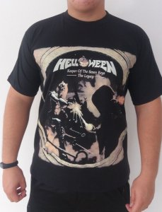 Camiseta Helloween - Keeper Of The Seven Keys - The Legacy