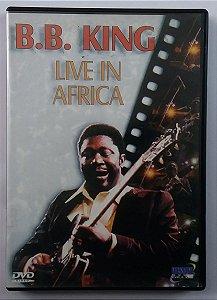 DVD B.B KING - Live In Africa