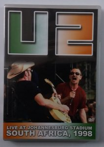 DVD U2 - Live At Johannesburg Stadium South Africa, 1998