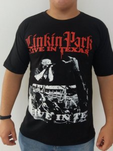 Camiseta Linkin Park - Live In Texas