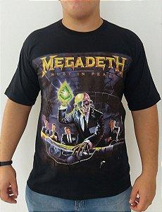 Camiseta Megadeth - Rust In Peace