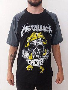 Camiseta Metallica XXX - Raglan