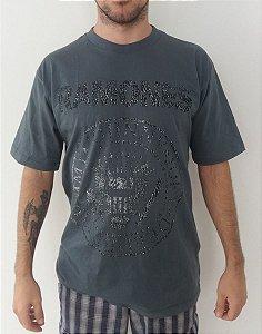 Camiseta Ramones - Símbolo - Cinza