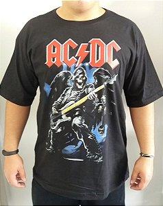Camiseta AC DC - Caveira