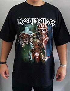 Camiseta Iron Maiden - The Book of Souls - World Tour