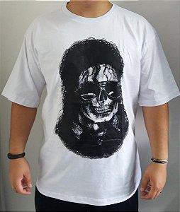 Camiseta Michael Jackson - Caveira