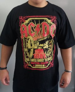 Camiseta AC DC - For Those About Rock