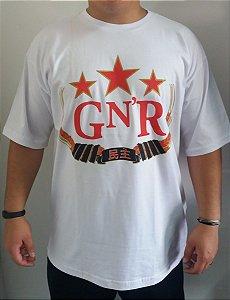 Camiseta Guns And Roses - GN´R - Branca