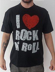 Camiseta I Love Rock n´Roll