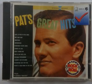 Pat Boone - Pat's Great Hits