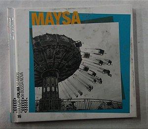CD Maysa -  Coleção Folha Sp 50 Anos Bossa Nova vol 16