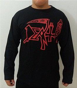 Camiseta Manga Longa - Death - Símbolo