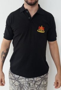 Camiseta Polo - AC DC - Hells Bell