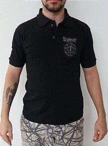 Camiseta Polo - Slipknot