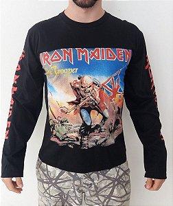 Camiseta Manga Longa - Iron Maiden - The Trooper