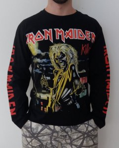 Camiseta Manga Longa - Iron Maiden - Killers
