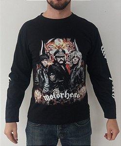 Camiseta Manga Longa - Motorhead  - Banda