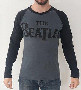 Camiseta Manga Longa - The Beatles - Raglan