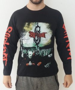 Camiseta Manga Longa - Slipknot - Banda
