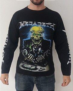 Camiseta Manga Longa - Megadeth
