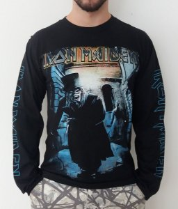 Camiseta Manga Longa - Iron Maiden