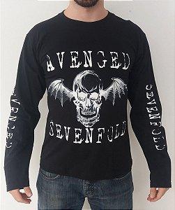 Camiseta Manga Longa - Avenged Sevenfold - Símbolo