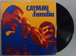Disco De Vinil Lp Caymmi Em Família