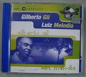 Cd Duplo Gilberto Gil + Luiz Melodia - 28 Sucessos !