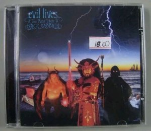 Cd Evil Lives - A True Metal Tribute To Black Sabbath