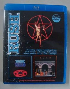 Dvd Blu-ray - Rush - 2112 + Moving Pictures - 2 Em 1