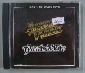 Cd April Wine + Great White - Back To Back Hits