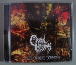 Cd Cranial Implosion - Lost On Dead Dominions