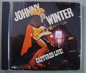 Cd Johnny Winter - Captured Live!