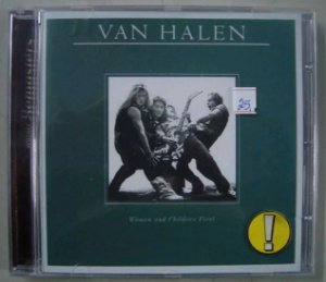 Cd Van Halen - Woman And Children First