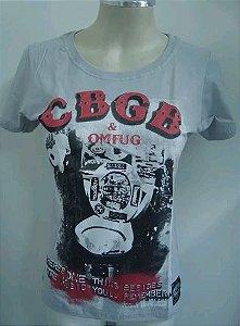 Baby Look - CBGB - Cinza