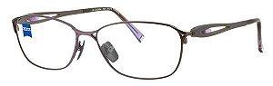 Armação para óculos de grau Zeiss ZS-30004 F081 55