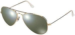 Óculos de sol Ray-Ban polarizado aviador médio RB3025 001/M4