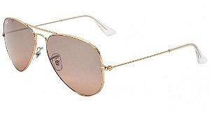 Óculos de sol Ray-Ban aviador grande RB3025 001/3E