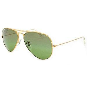 Óculos de sol Ray-Ban aviador grande polarizado RB3025 001/M4
