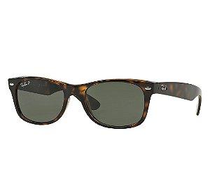 Óculos de sol Ray-Ban New Wayfarer Polarizado RB2132 902/58 58