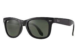 Óculos de sol Ray-Ban Wayfarer Folding Polarizado RB4105 601/58 50