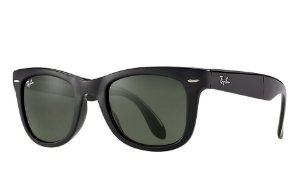 Óculos de sol Ray-Ban Wayfarer Folding RB4105 601-S Grande
